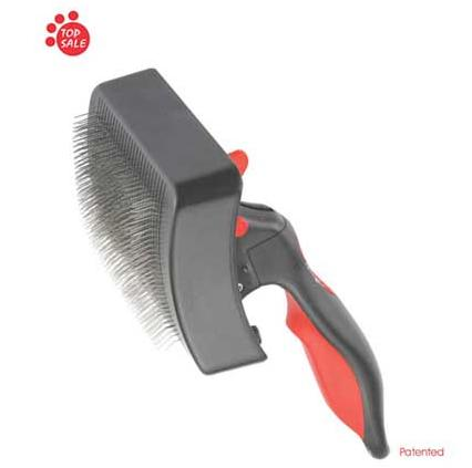 Self-cleaning Clicker Brushes Slicker Brushes