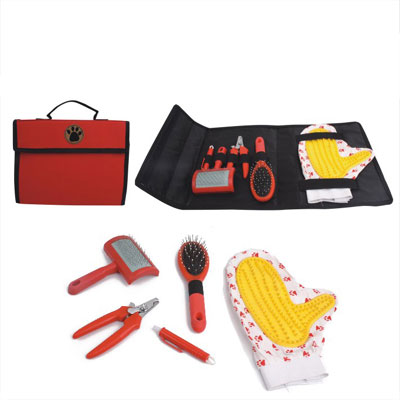 Pet Grooming Set With Carrier Bag(YB71993-B)