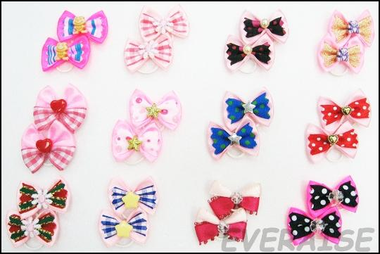 NEW ENCHATING HAIR BOW-PINK