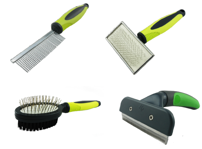 Premium Brand Dog Brushes and Combs