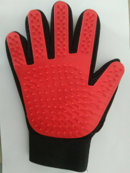 five finger bath  glove